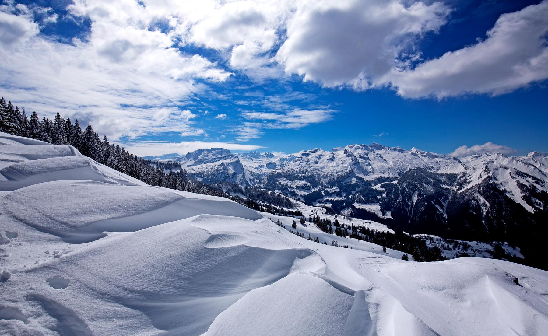 Winterlandschaft in Illgau