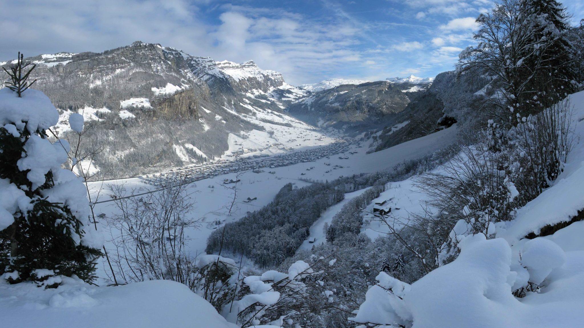 Muotathal im Winter