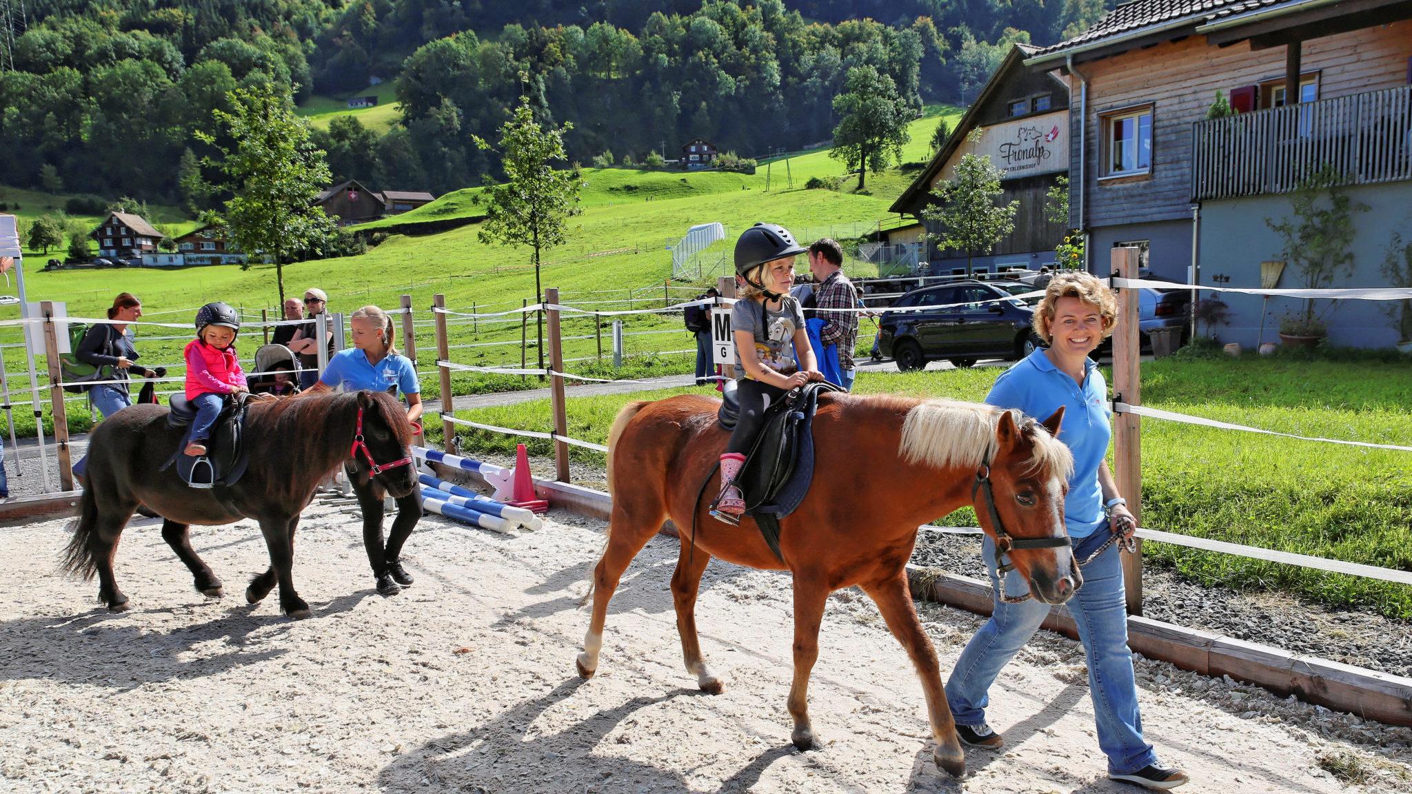 geführtes reiten für Kinder