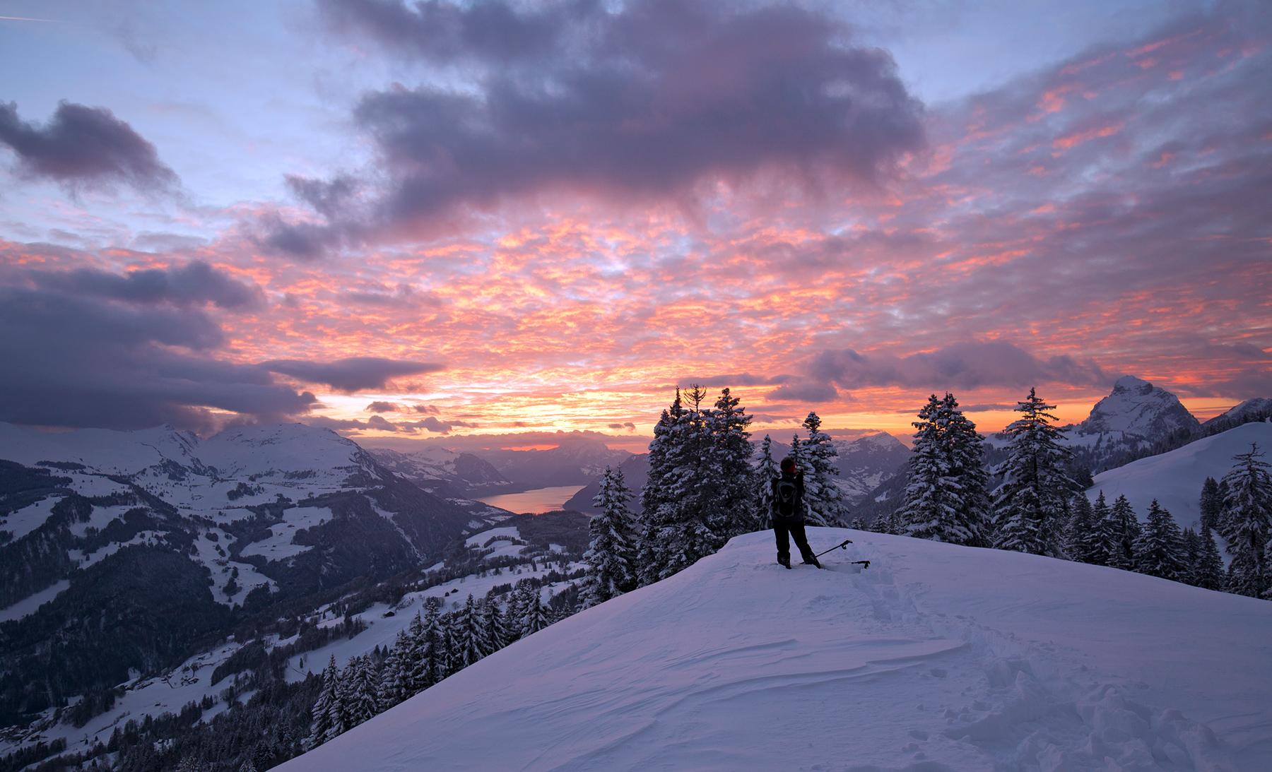 Schneeschuhtour Illgau