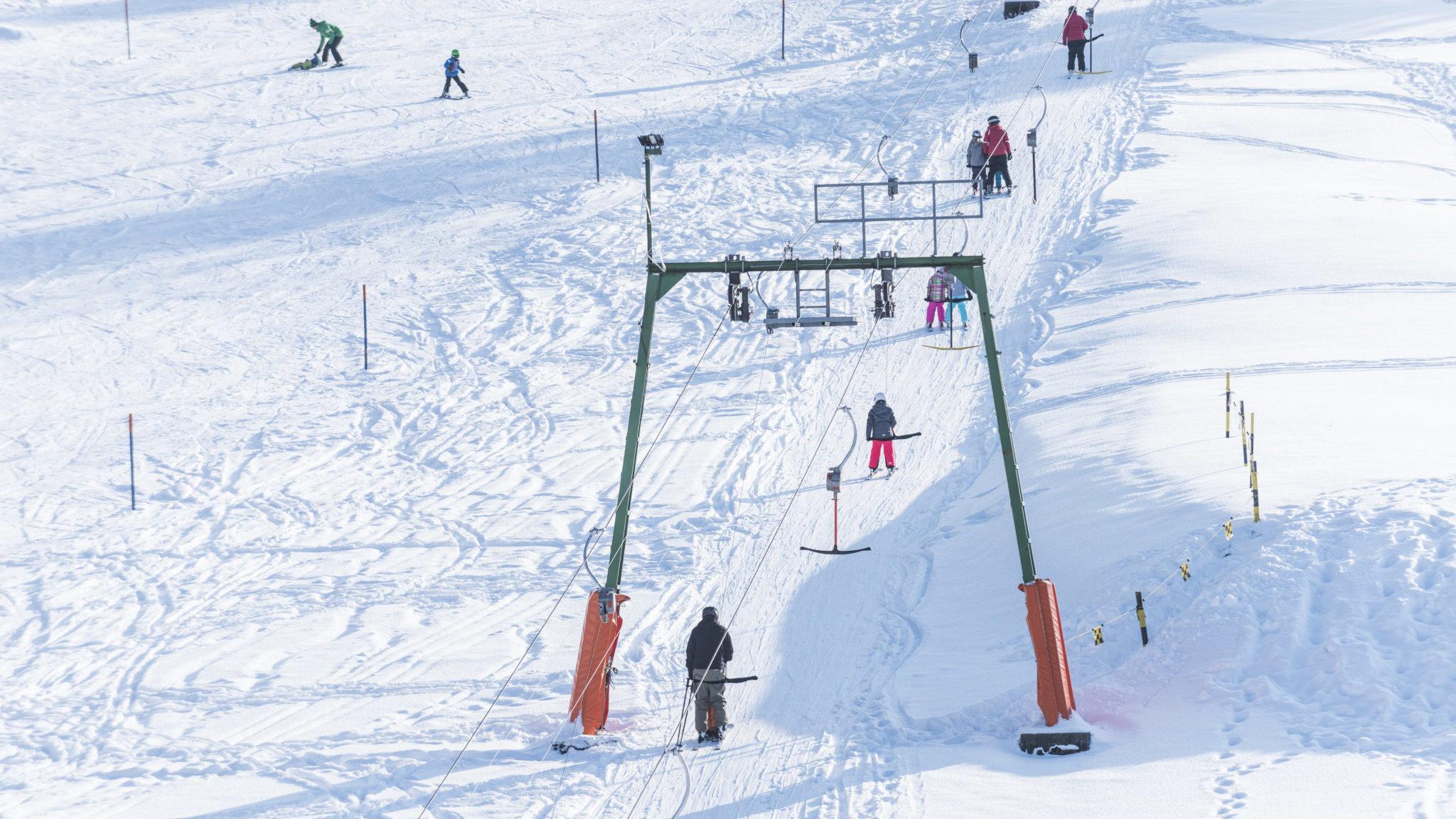Skifahren in Morschach