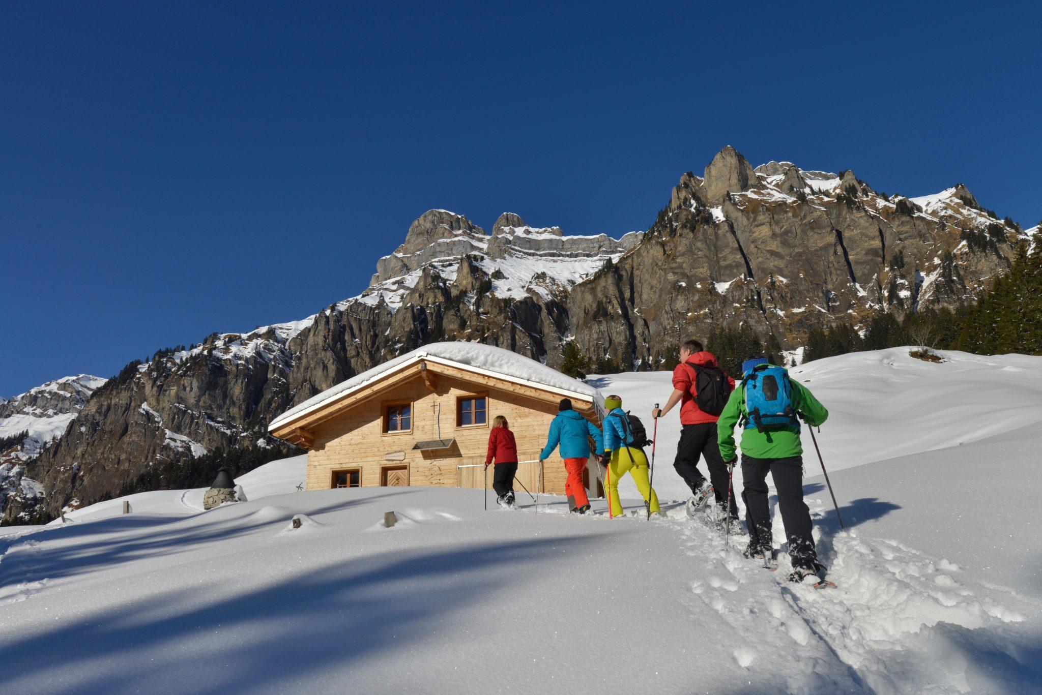 Schneeschuhwanderung Muotatal