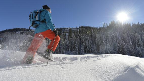 Schneeschuhläufer