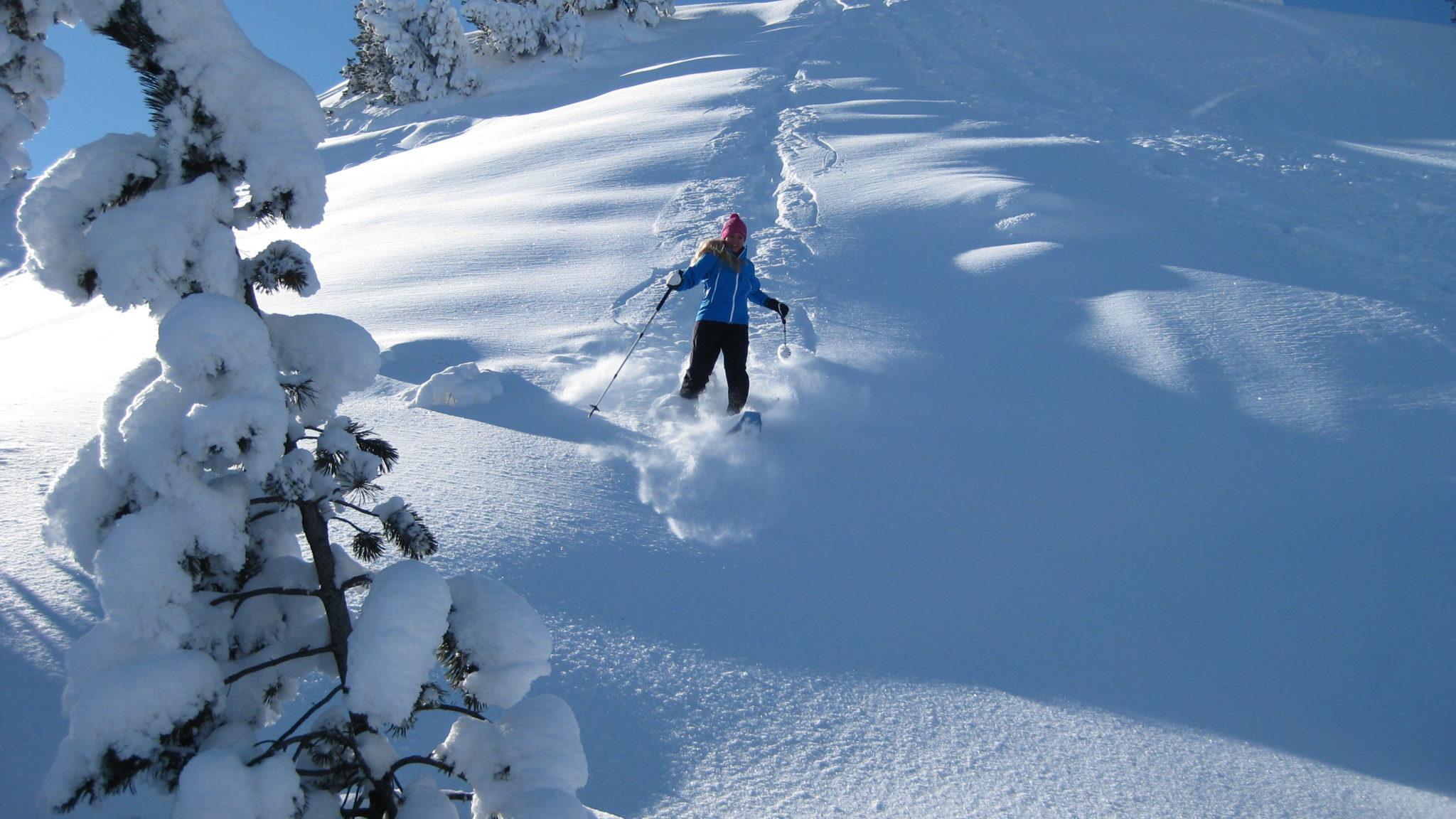 Schneeschuhlaufen Muotatal