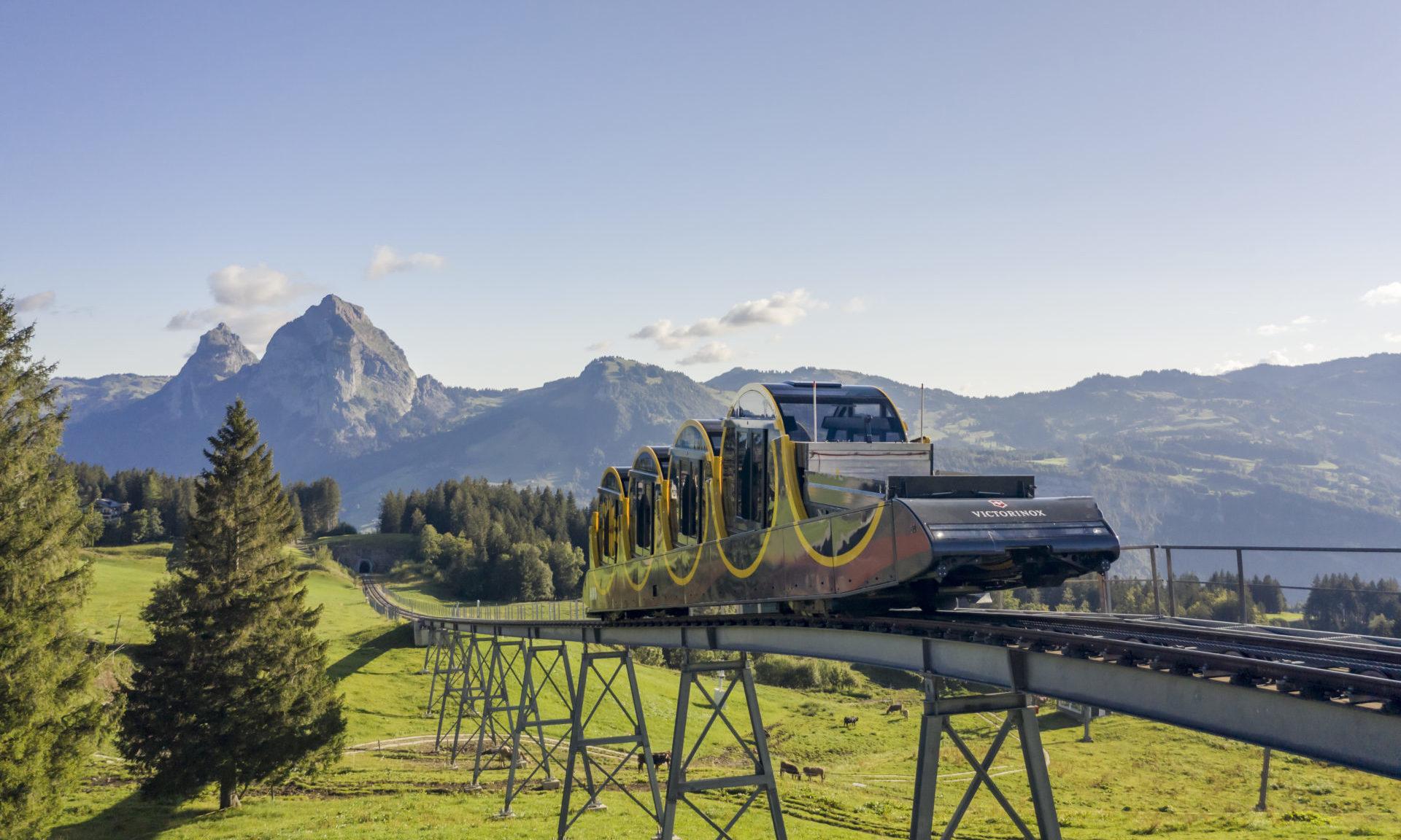 Standseilbahn Bergstation Zürrer