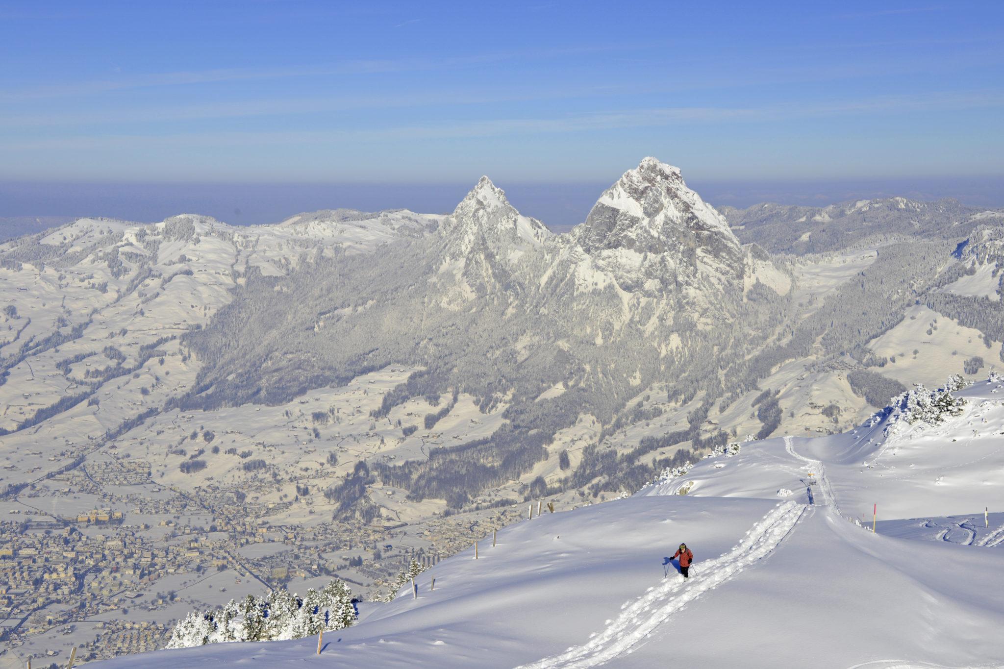 Schneeschuhlaufen Fronalpstock