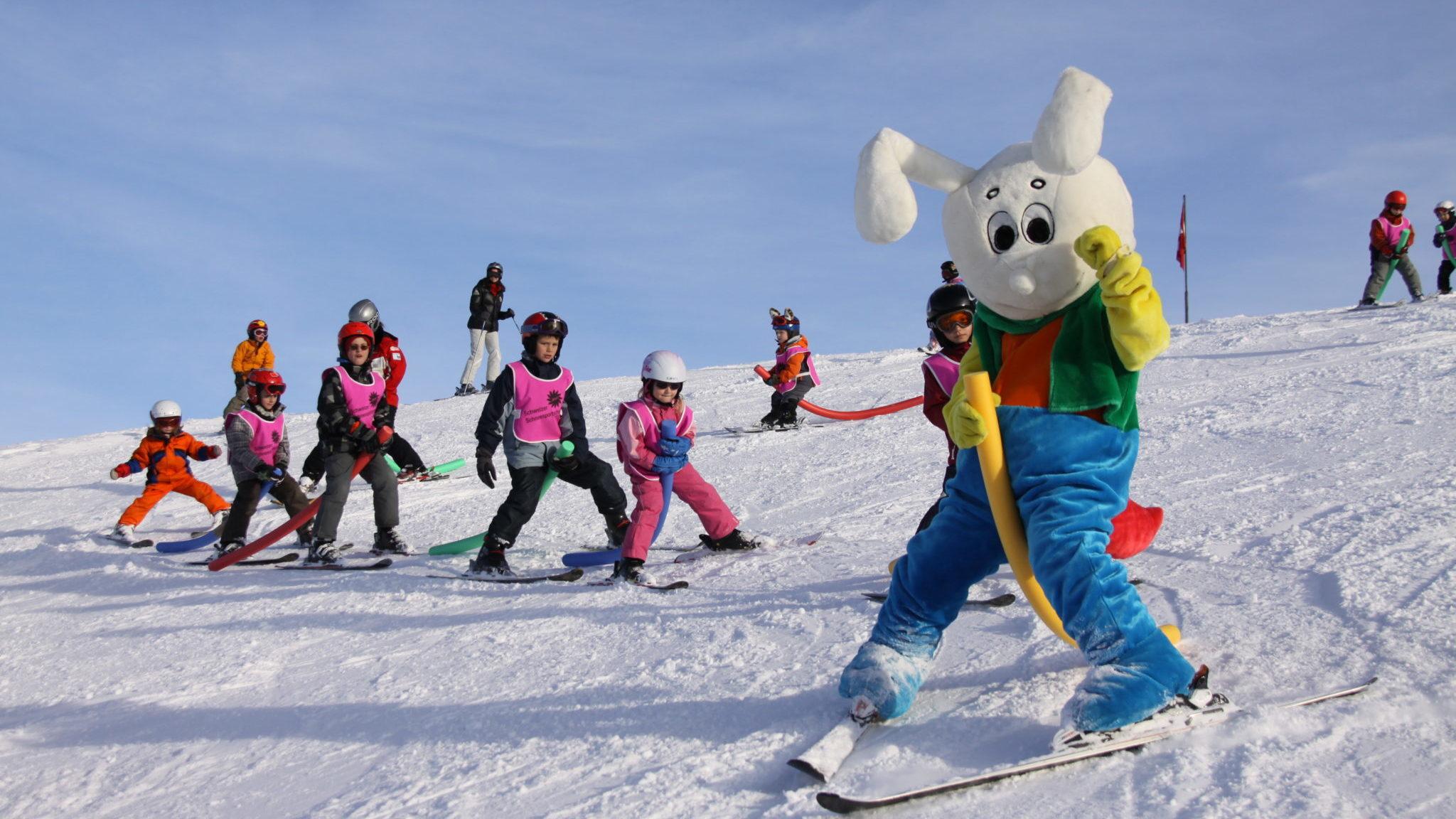 Unterricht Skischule Stoos
