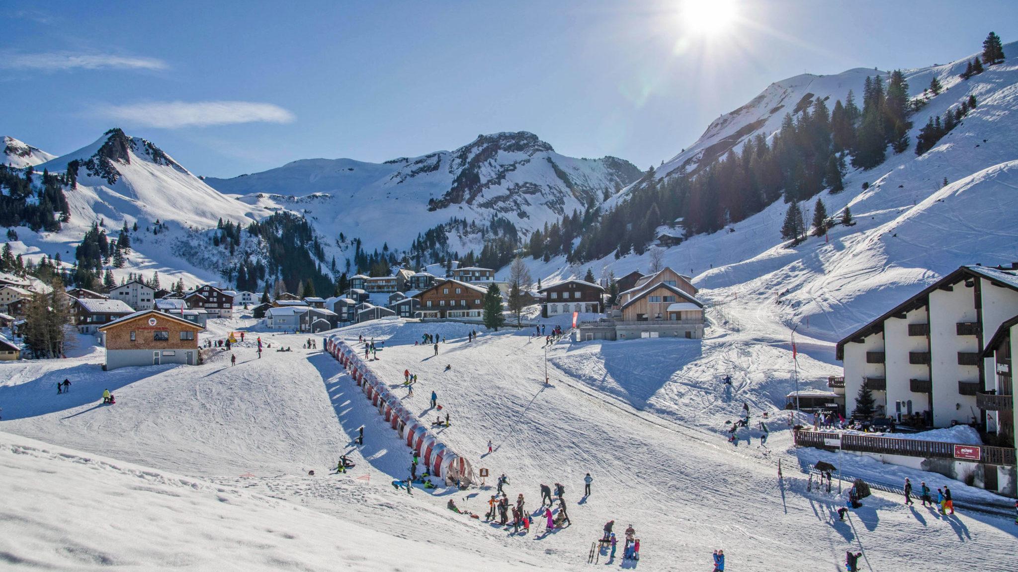 Zauberteppich der Skischule