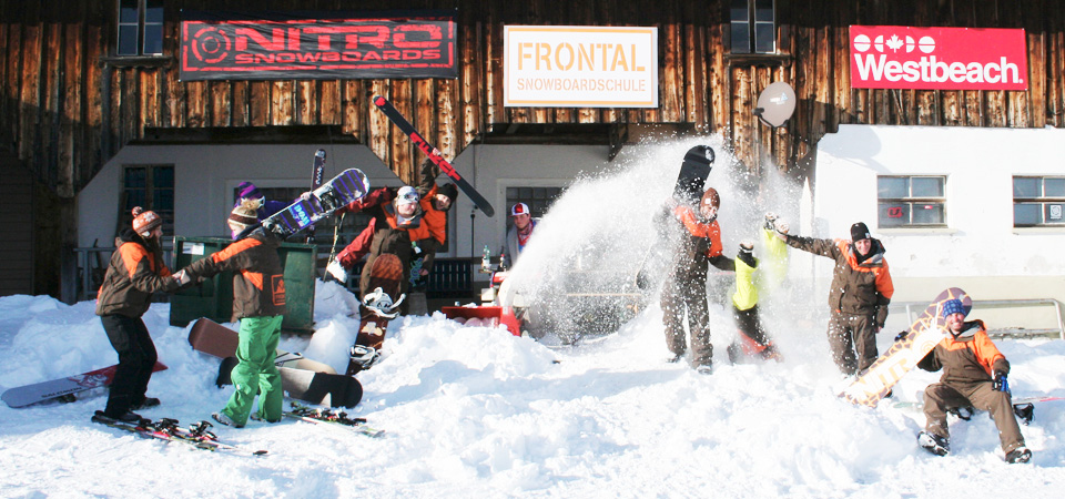 Snowboardschule auf dem Stoos
