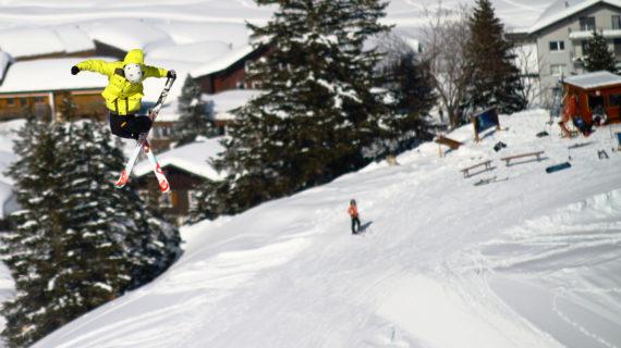 Snowpark für Freestyler