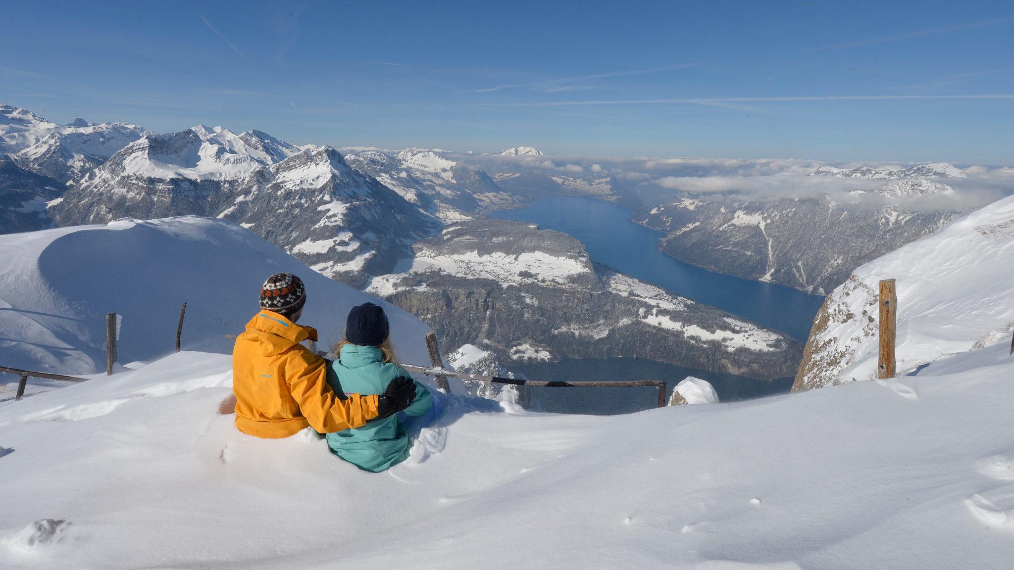 Winterwandern Fronalpstock