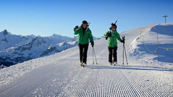 Skifahren Fronalpstock