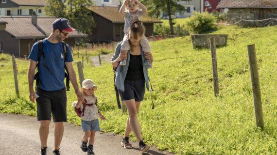 Familie Wandern Zürrer